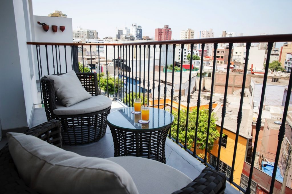 Hotel Casa Cielo - Executive Suite Balcony